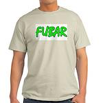 FUBAR ver4 Ash Grey T-Shirt
