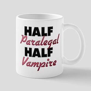 Half Paralegal Half Vampire Mugs