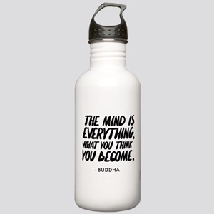 Buddha Quote The Mind Stainless Water Bottle 1.0L