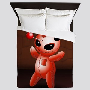 Voodoo Doll Evil Devil Cartoon Queen Duvet
