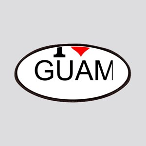 I Love Guam Patch
