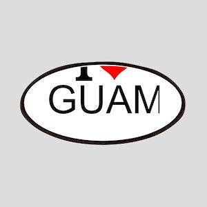 I Love Guam Patch