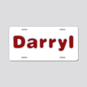 Darryl Santa Fur Aluminum License Plate