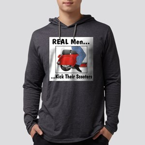 Real Men Kick Long Sleeve T-Shirt