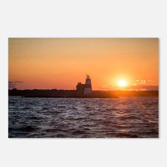 Funny Lighthouse Postcards (Package of 8)