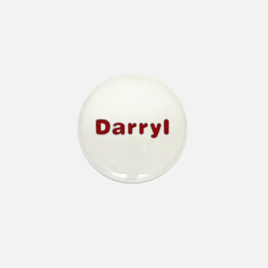 Darryl Santa Fur Mini Button