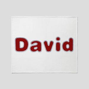 David Santa Fur Throw Blanket