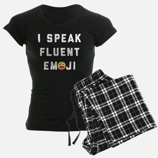 I Speak Fluent Emoji Pajamas