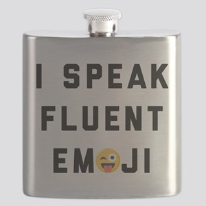 I Speak Fluent Emoji Flask