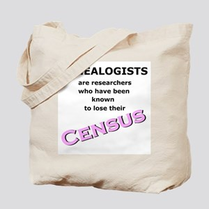 Genealogy Losing Census (Pink) Tote Bag
