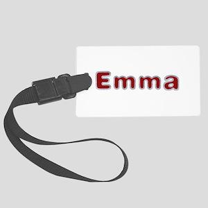 Emma Santa Fur Large Luggage Tag