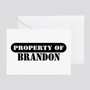 Property of Brandon Greeting Cards (Pk of 10)