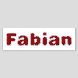 Fabian Santa Fur Bumper Sticker