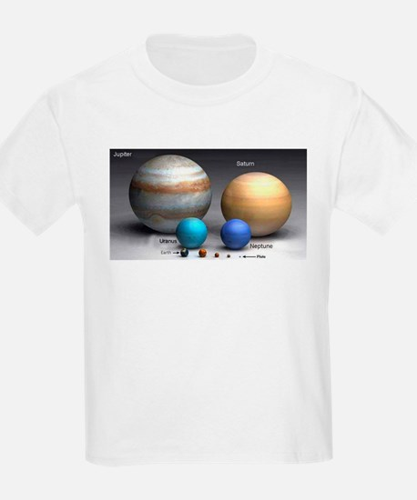 Solar System Planets Kids T-Shirt