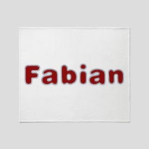 Fabian Santa Fur Throw Blanket