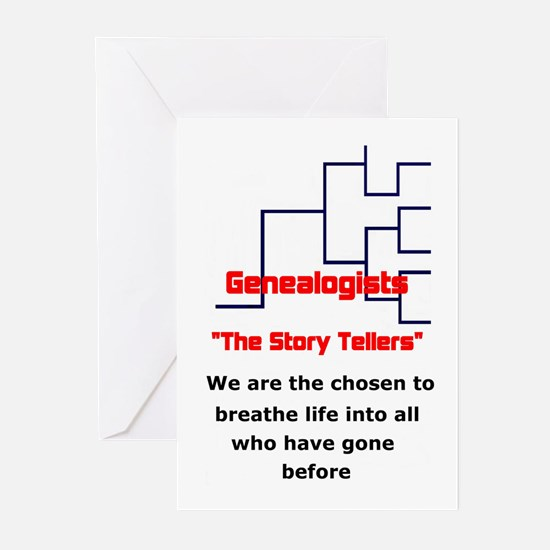 Genealogy Story Tellers Greeting Cards (Pk of 10)