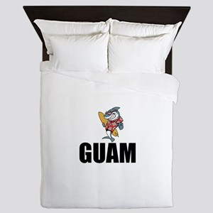 Guam Queen Duvet