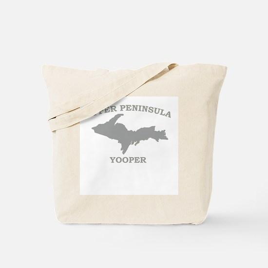 Upper Peninsula Yooper - Silv Tote Bag