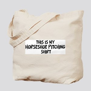 My Horseshoe Pitching Tote Bag