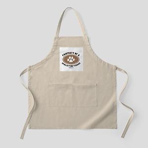 Pom Terrier dog BBQ Apron