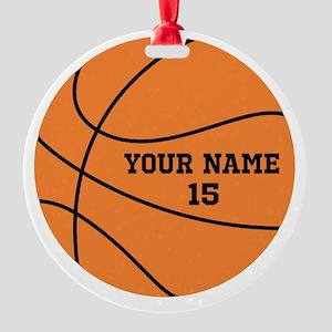 Custom Basketball Ornament