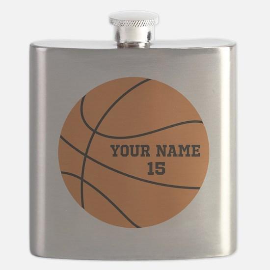 Custom Basketball Flask