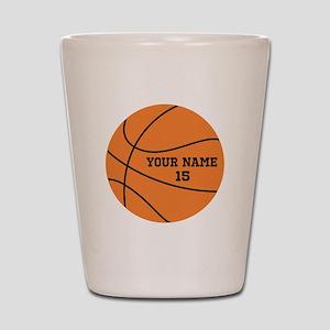 Custom Basketball Shot Glass