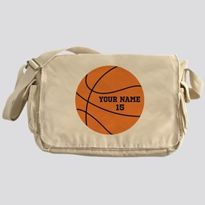 Custom Basketball Messenger Bag