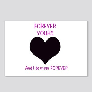 Forever Yours Postcards (Package of 8)