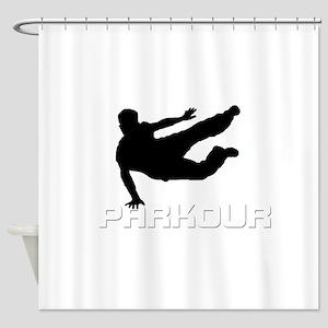 SPEED VAULT Shower Curtain