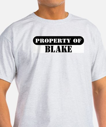 Property of Blake Ash Grey T-Shirt
