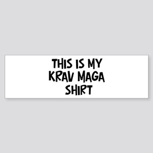 My Krav Maga Bumper Sticker