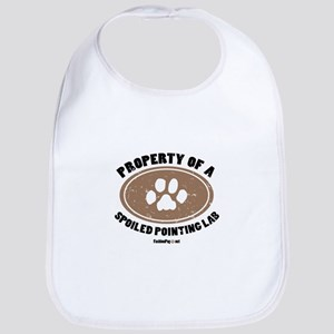 Pointing Lab dog Bib