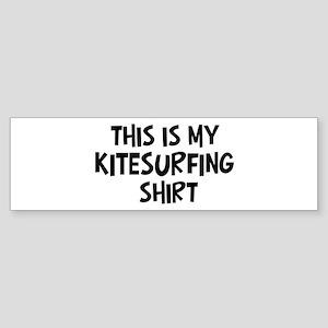 My Kitesurfing Bumper Sticker