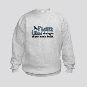 Frasier Good Mental Health Quote Kids Sweatshirt