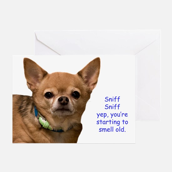 Chihuahua Anniversary Greeting Cards