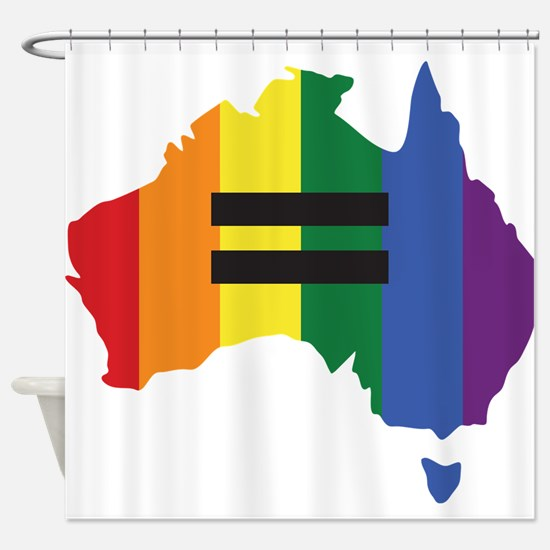 LGBT equality Australia Shower Curtain