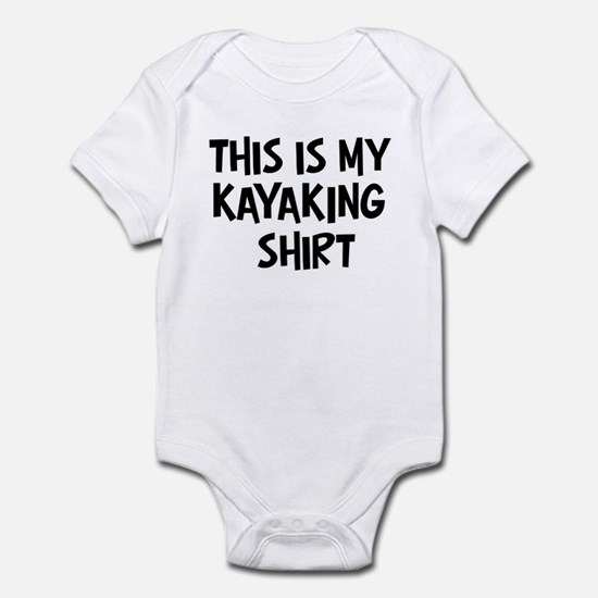 My Kayaking Infant Bodysuit