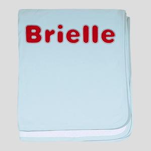 Brielle Santa Fur baby blanket