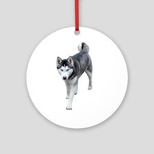 Husky Ornament (Round)