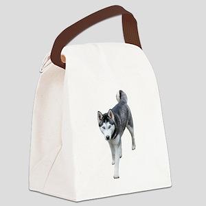 Husky Canvas Lunch Bag