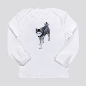 Husky Long Sleeve Infant T-Shirt