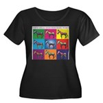 NDTDW Multicolor Logo 0622092 Plus Size T-Shir