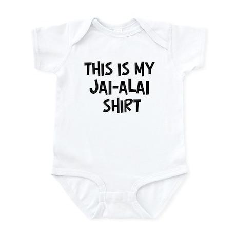 My Jai-Alai Infant Bodysuit