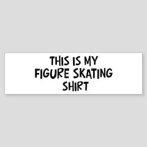 My Figure Skating Bumper Sticker