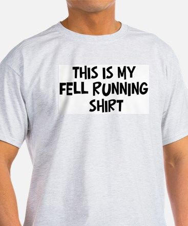 My Fell Running Ash Grey T-Shirt