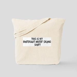 My Barefoot Water Skiing Tote Bag