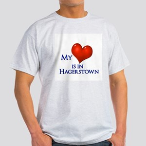 Heart in Hagerstown Ash Grey T-Shirt