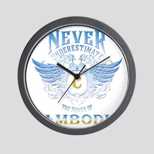 Never Underestimate The Power Of Cambod Wall Clock