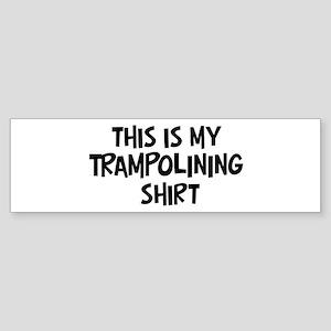 My Trampolining Bumper Sticker